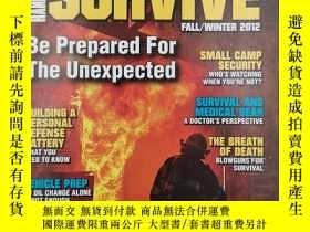 二手書博民逛書店personal罕見defense survive fall winter 2012 special editio