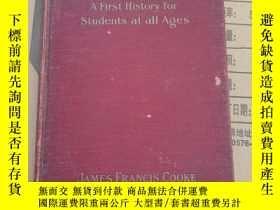 二手書博民逛書店standard罕見history of music a first history for students a