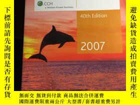 二手書博民逛書店AUSTRALIAN罕見Master Tax Guide2007