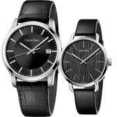 Calvin Klein CK 簡約情侶手錶 對錶-42mm+36mm K5S311C1+K7B231C1