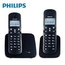 免運費 Philips 飛利浦 2.4GHz 數位無線電話 無線電話 子母機 數位電話 DCTG1862B/96