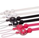 88柑仔店~~通用手機掛脖繩可分拆式胸牌吊繩手機掛飾指環扣防丟繩電鍍扣掛繩