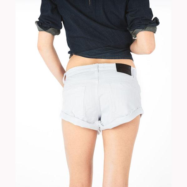 OneTeaspoon 低腰牛仔短褲  BANDITS  -白(女)