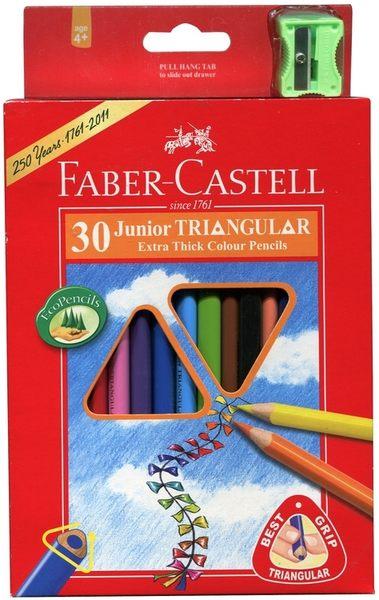 德國輝柏  大三角彩色鉛筆3.3mm 30色 /盒  (16-116538-30)