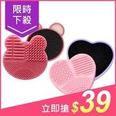 小熊/愛心 造型刷具清潔板/清潔盒(1入) 顏色隨機出貨【小三美日】原價$59
