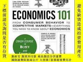 二手書博民逛書店Economics罕見101-經濟學101Y436638 Alfred Mill Adams Media, 2
