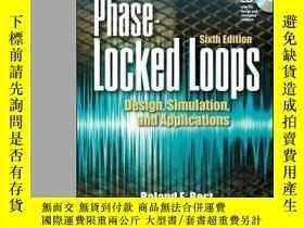 二手書博民逛書店Phase罕見Locked LoopsY364682 Best, Roland E. Mcgraw-hill