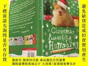 二手書博民逛書店原版繪本Christmas罕見According to Humphrey漢弗萊的Y200392