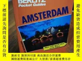 二手書博民逛書店Berlitz罕見Amsterdam (Berlitz Pock