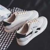 新款帆布潮鞋韓版男鞋百搭休閒運動學生布鞋小白板鞋 青山小鋪