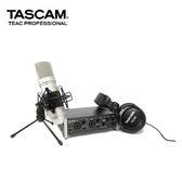 【EC數位】TASCAM 達斯冠 US-2x2TP USB錄音介面 2x2 套裝 XLR 幻像電源 耳機 麥克風