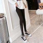 內搭褲 灰色打底褲外穿薄款踩腳純棉灰色黑色顯瘦大碼 巴黎春天