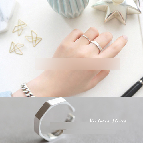 S925純銀 優雅知性 光彩亮麗戒指-維多利亞180801