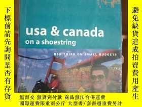 二手書博民逛書店罕見lonelyplanet孤獨星球USA&Canada美國和加