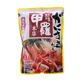日本一引火鍋高湯底[甲羅螃蟹風味]800g(3~4人)