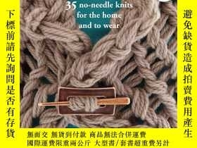 二手書博民逛書店Arm罕見& Finger Knitting: 35 Super