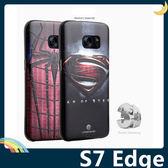 三星 Galaxy S7 Edge 卡通浮雕保護套 軟殼 彩繪塗鴉 3D風景 立體超薄0.3mm 矽膠套 手機套 手機殼