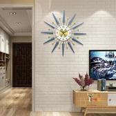 掛鐘 鐘錶掛鐘客廳現代簡約家用時鐘北歐輕奢餐廳牆面裝飾創意靜音掛錶T 3色 雙12提前購