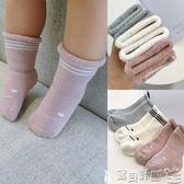 嬰兒襪 童裝秋冬嬰兒加厚毛圈襪1-3歲男女童寶寶毛巾襪高筒襪子 寶貝計畫