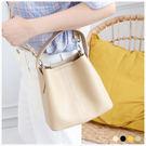 包中包-質感亮彩壓紋手提/側背包中包-共4色-A17172977-天藍小舖