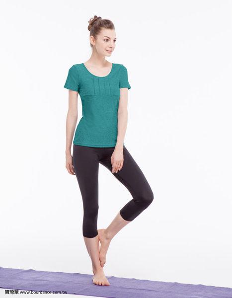 *╮寶琦華╭*台灣製造 專業瑜珈韻律芭蕾★簡約短袖上衣(內有裡襯 附罩杯)【Y16258】布料較厚