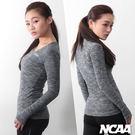運動 吸濕排汗 專業緊身衣 NCAA-麻...