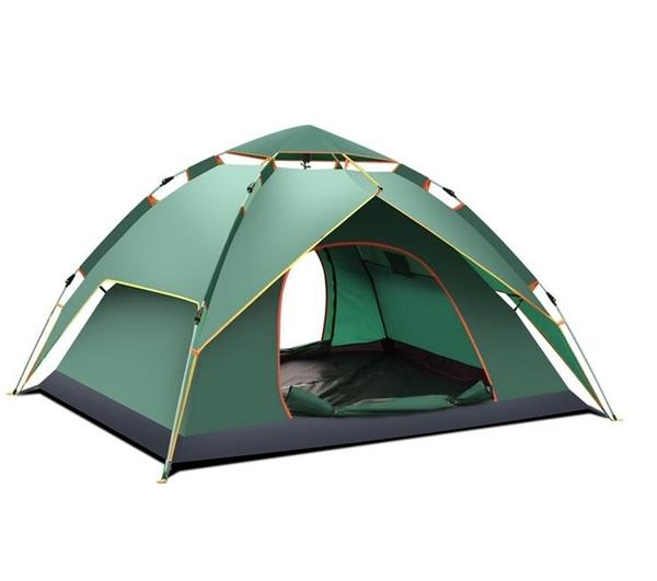帳篷戶外3-4人全自動二室一廳家庭雙人2單人野營野外加厚防雨露營·享家