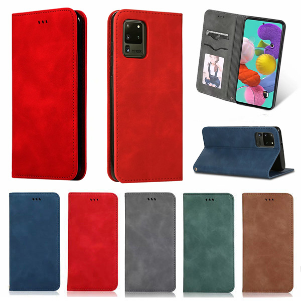三星 S20 FE S20+ S20 Ultra ZD商務皮套 手機皮套 插卡 支架 磁吸 掀蓋殼