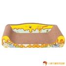 貓床貓沙發貓抓板窩磨爪器耐磨貓咪玩具大號【小獅子】
