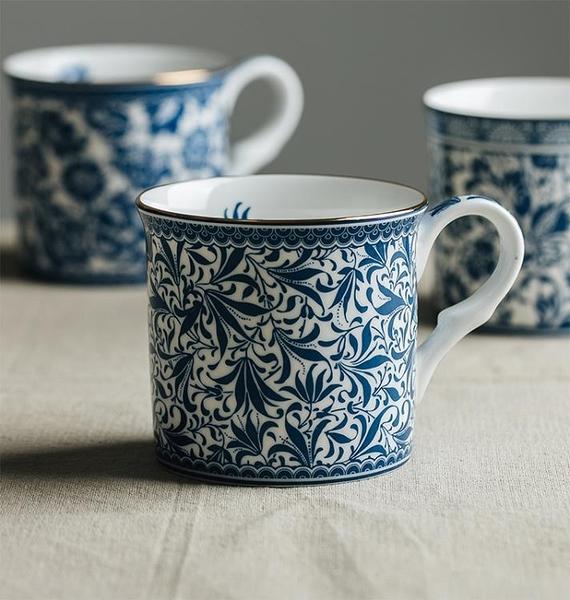 咖啡杯 妙HOME英式古典輕奢咖啡杯陶瓷精致歐式下午茶茶骨瓷 【618 大促】