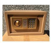 家用保險柜電子密碼保險箱辦公入墻固定床頭保管箱存錢罐儲蓄