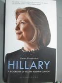【書寶二手書T5/傳記_XAT】Hillary : A Biography of Hillary Rodham Clin