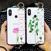 小米max2/max3手機殼簡約全包小清新斜挎背帶百搭【雲木雜貨】
