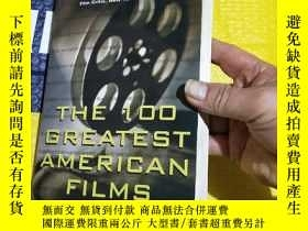 二手書博民逛書店THE罕見100 GREATEST AMERICAN FILMS A QUIZ BOOKY255387 AND