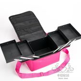 (百貨週年慶)大容量收納多層化妝箱包手提彩妝美甲足療紋繡工具箱xw
