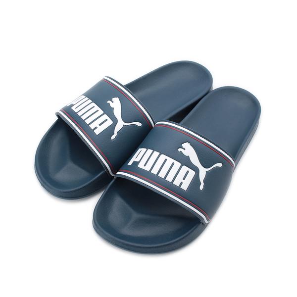 PUMA LEADCAT FTR 套式拖鞋 深藍 372276-05 男鞋