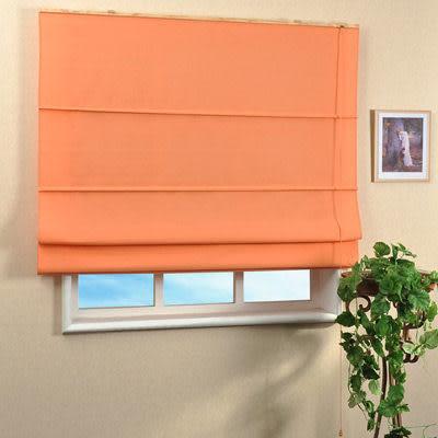 《家購網寢俱館》芸佳系列-自然風羅馬簾(寬120x高165cm)