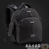 攝影背包 後背單反相機包女包微單攝影包防水平板電腦戶外旅行小型迷你背包 JD特賣