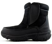 ESKT 台灣開泰 男款中筒保暖雪鞋 黑色 SN217 釘鞋 雪鞋 賞雪 滑雪 旅遊 [易遨遊]