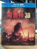 挖寶二手片-0946--正版藍光BD【哥吉拉 3D+2D雙碟版】熱門電影(直購價)海報是影印