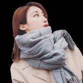 新品韓版米色女圍巾女生秋冬天秋冬布料學院圍脖圍巾圍脖服飾頸巾