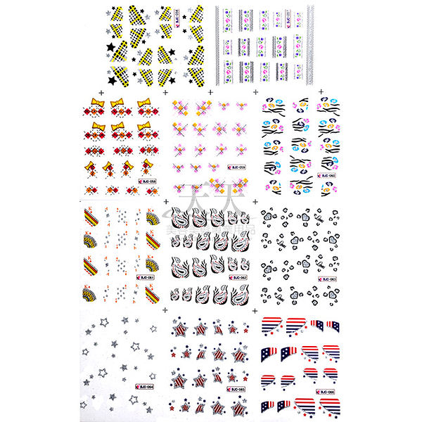 【買一送一】嘉奈兒 指甲轉印貼紙 大張 圖案隨機出貨 [40515] 2016線上美甲展 比世貿更便宜