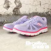 FILA 芋頭紫 桃紅 透氣 休閒鞋 慢跑鞋 女 (布魯克林) 5J904Q951