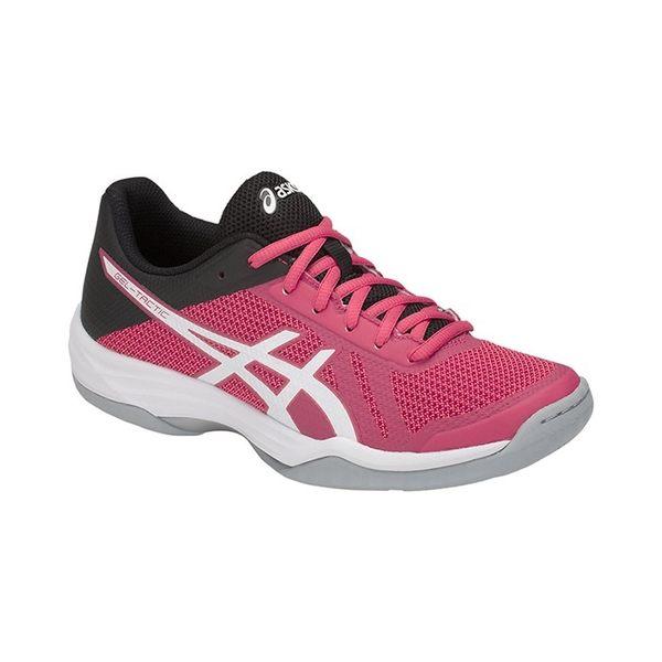 【asics 亞瑟士】GEL-TACTIC 女排球鞋 粉紅 B752N-700