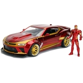 《 JADA 》 Marvel 1:24合金車+鋼鐵人 / JOYBUS玩具百貨