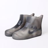 透明雨鞋套女雨靴中筒防滑膠鞋水靴套鞋幫輕便防水鞋耐磨時尚外穿