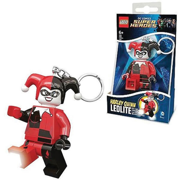 樂高LEGO DC英雄系列 哈利奎茵 LED燈 鑰匙圈 TOYeGO 玩具e哥