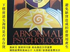 二手書博民逛書店Abnormal罕見psychologyY254226 Irwi