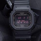 【人文行旅】G-SHOCK   DW-5600MS-1DR 軍事風格勁炫男錶 消光黑