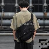 男士工裝女斜挎包跨包機能大學生休閑側背背包【左岸男裝】
